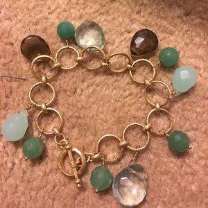 Stella & Dot gemstone bracelet